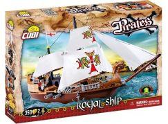 Cobi Piráti 6018 Královská loď
