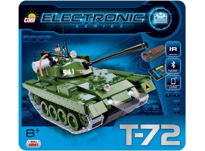 Cobi Small Army 21904 Electronic Tank T-72