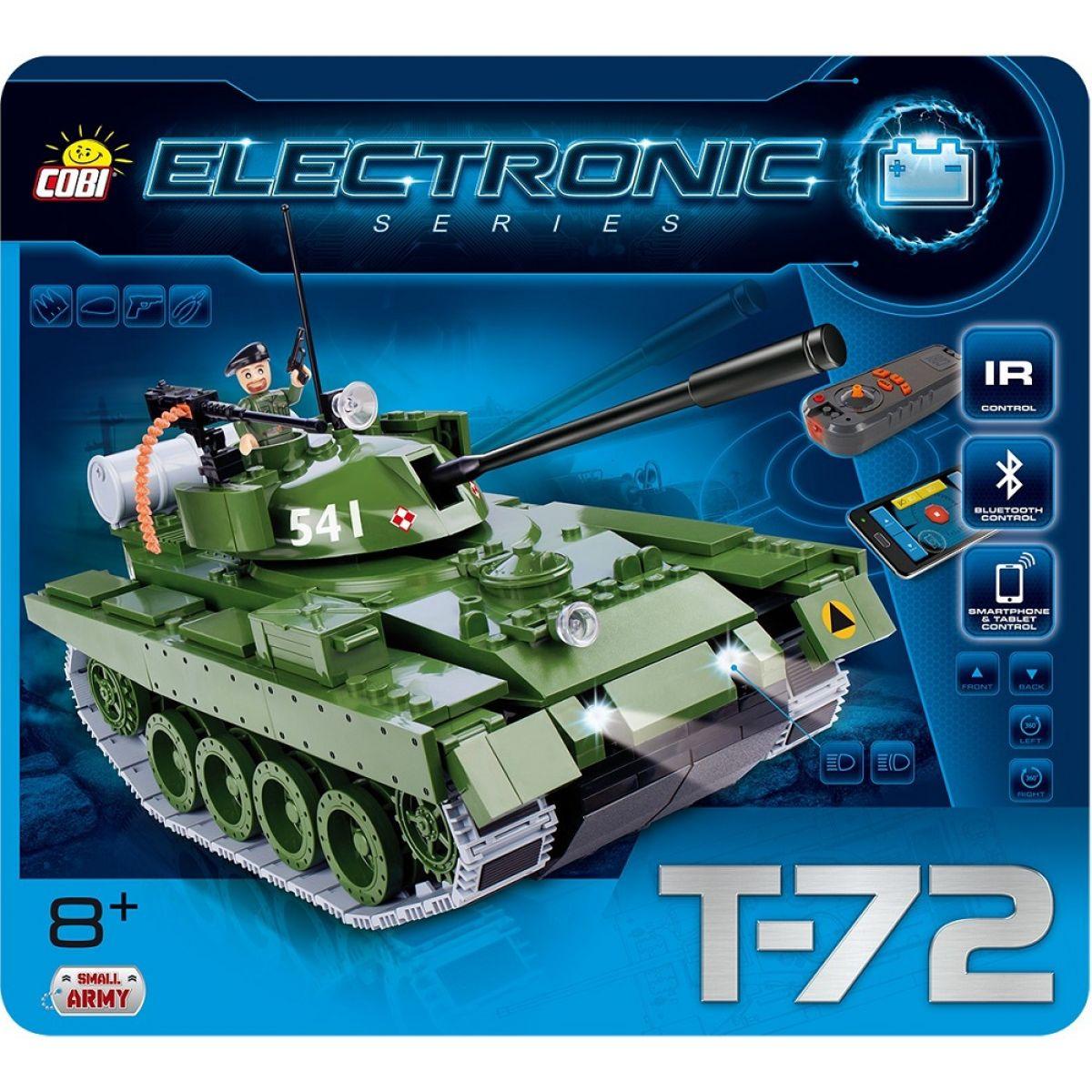 Cobi Small Army 21904 Electronic Tank T-72