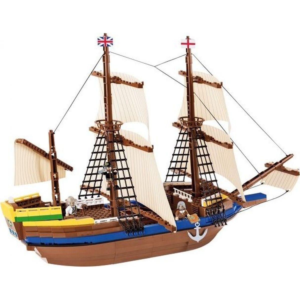 Cobi Smithsonian 21077 Loď Mayflower