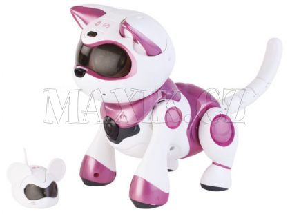 Cobi Teksta Robotické koťátko růžové