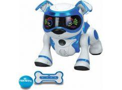 Cobi Teksta Robotické štěně ovládané hlasem - Bílo-modrá