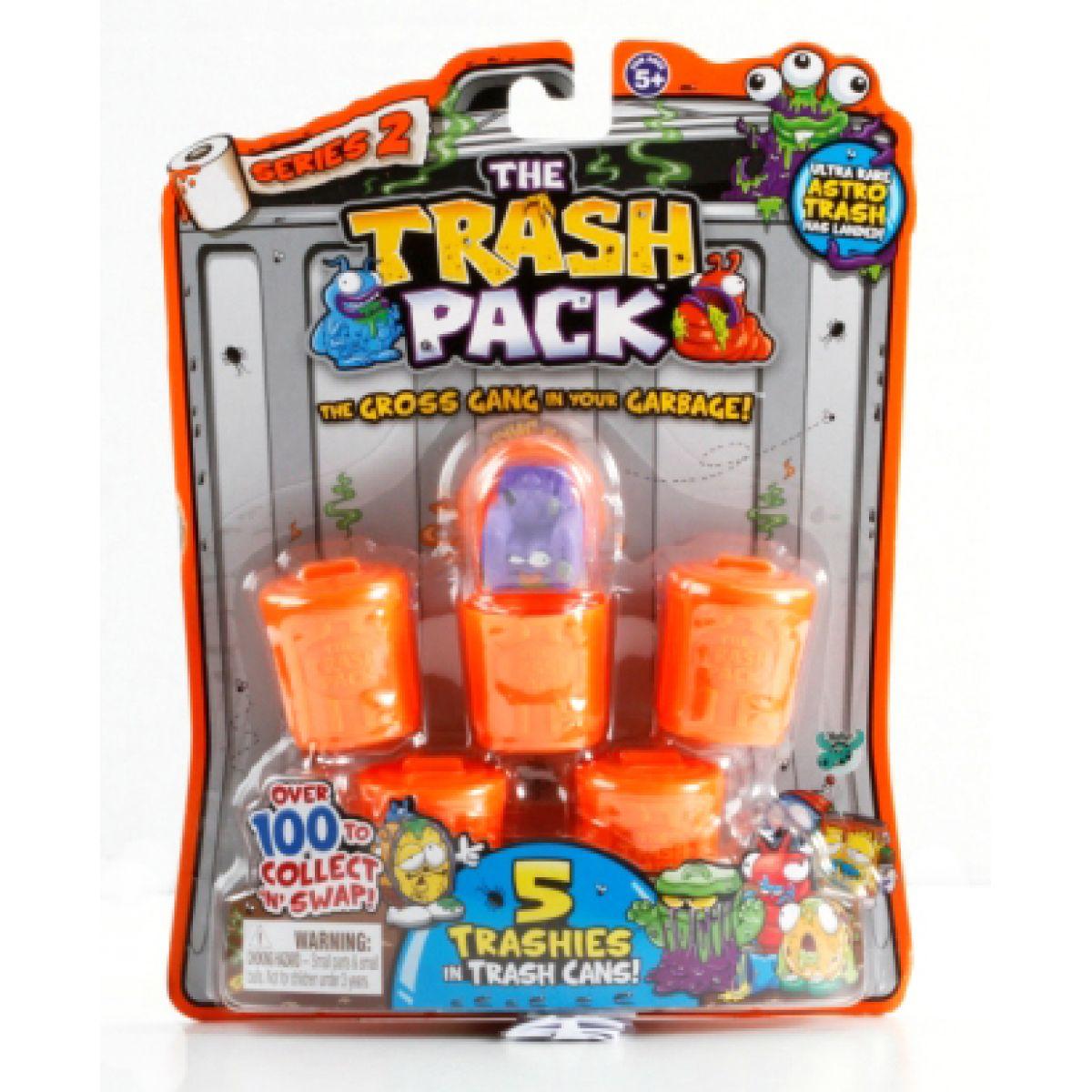Cobi Trash Pack 2 blister 5 Smeťáků