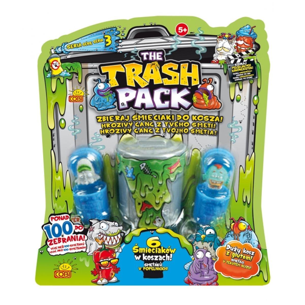 Cobi Trash Pack 3 Smeťáci v tekutém slizu