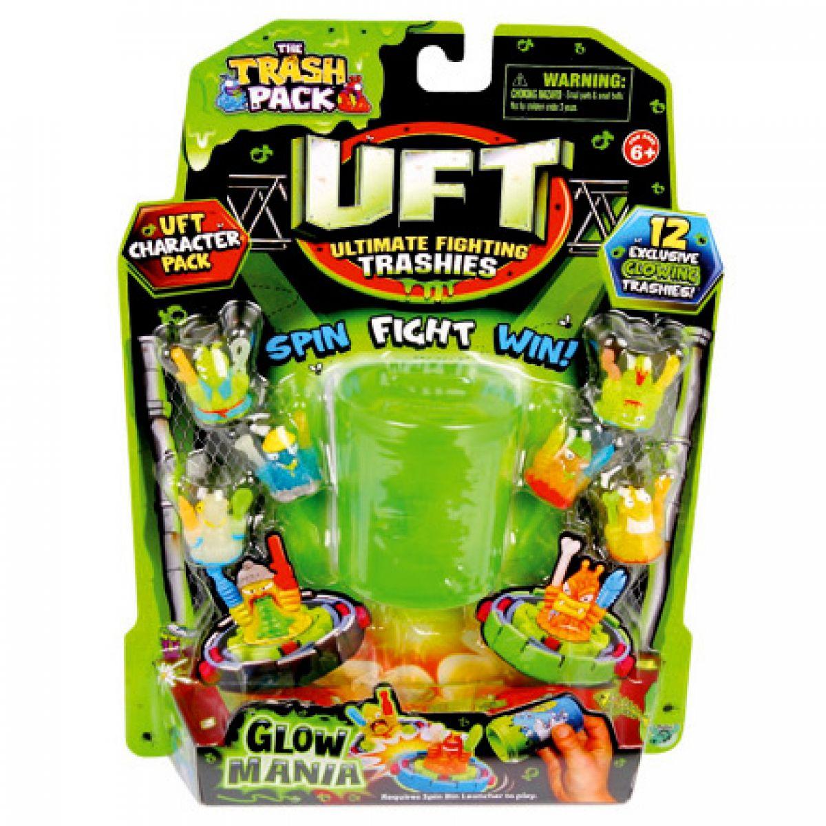 Cobi Trash Pack UFT Bojoví Smeťáci Glow Mania 12 Smeťáků