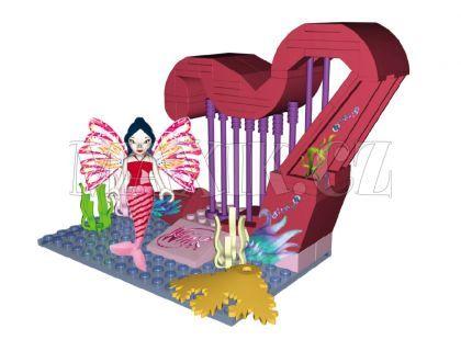 Cobi WinX 25084 MUSA Kouzelná harfa