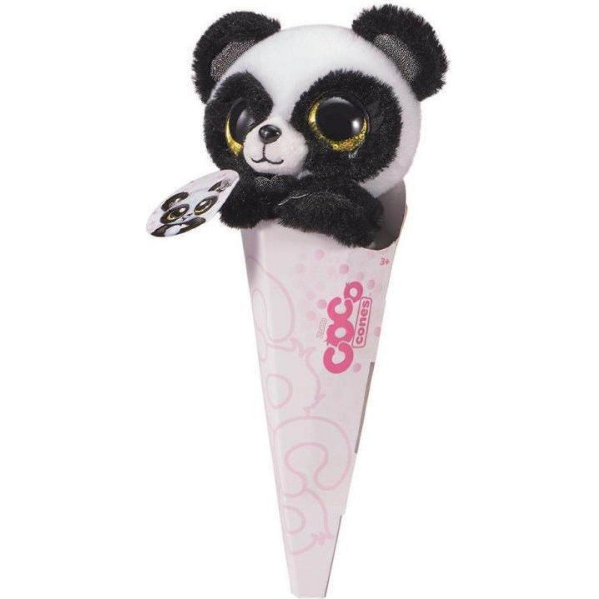 COCO plyšové zvířátko s překvapením Panda