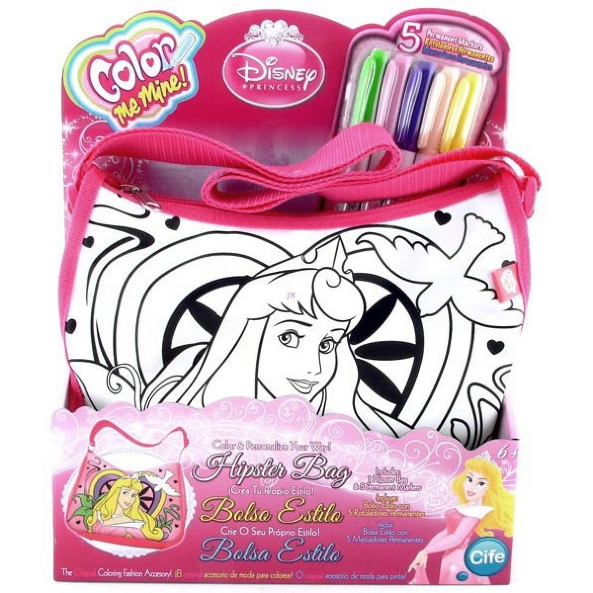 Color Me Mine Kabelka Disney Princezny