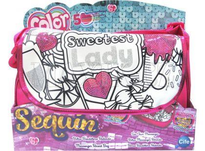 Color Me Mine Sequin Lady kabelka