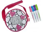 Color Me Mine Sequin Tote mini kabelka - Nápis Boom Boom