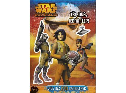 Cprees Star Wars Povstalci - Tři, dva, jedna, lep!