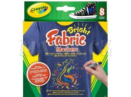 Crayola Fixy na textil 8 ks