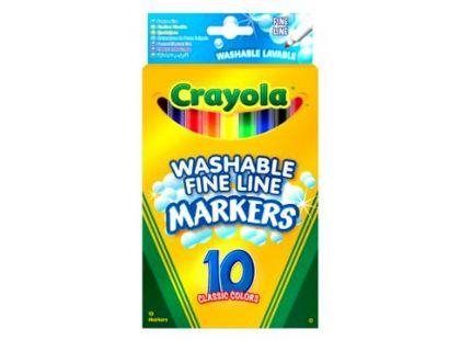 Crayola Fixy tenké vypratelné 10ks