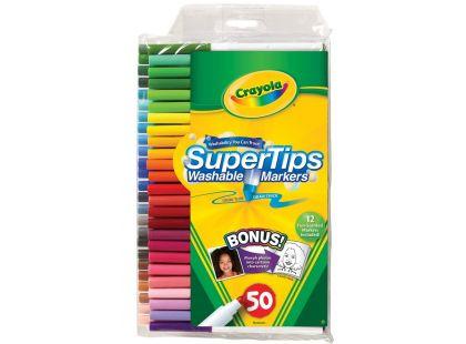 Crayola Fixy zářivé tenké 50 ks
