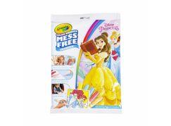 Crayola Kouzelné omalovánky Disney Princess-kreslení bez následků