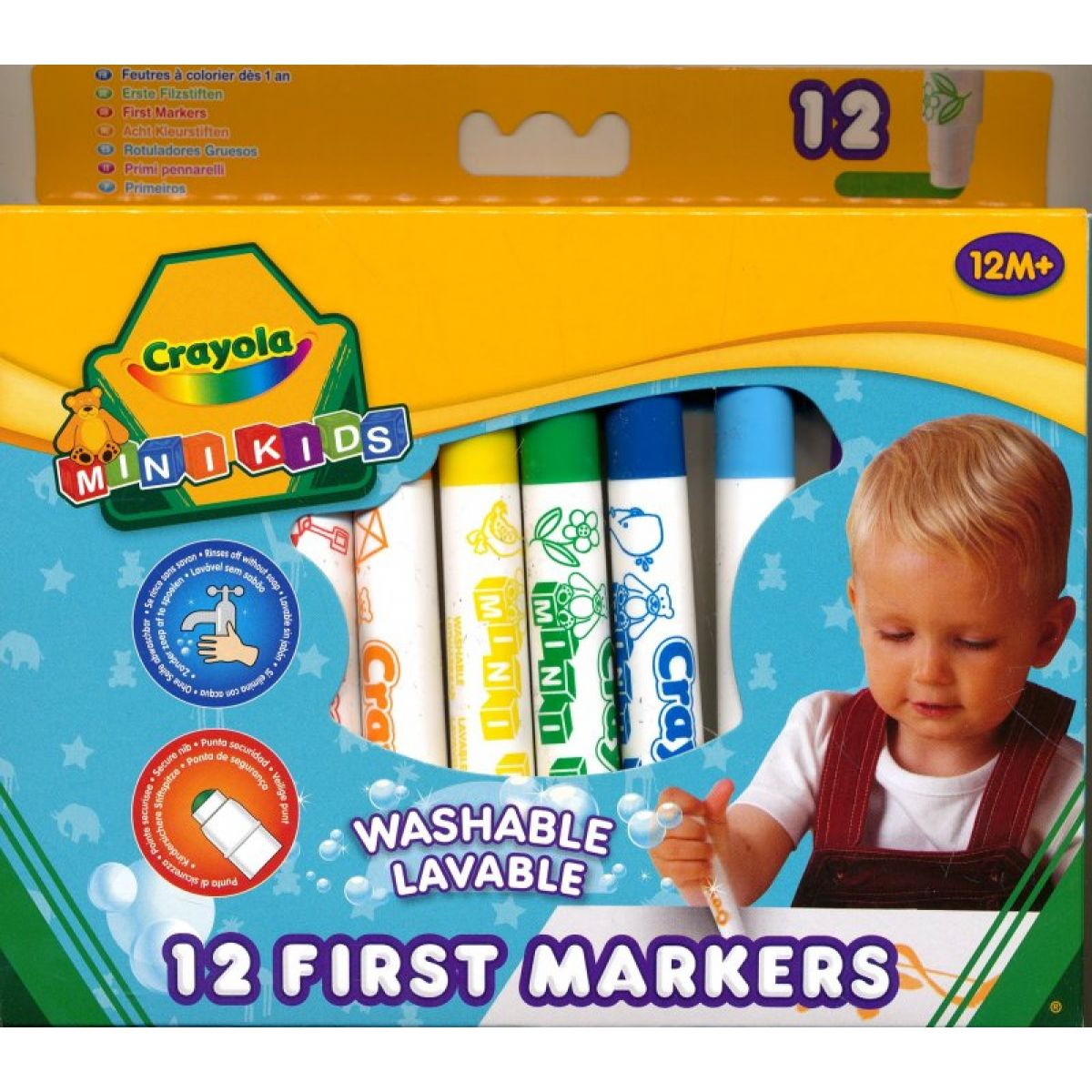 Crayola Mini Kids Fixy 12 ks