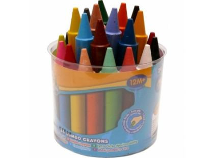 Crayola Mini Kids Voskovky 24 ks