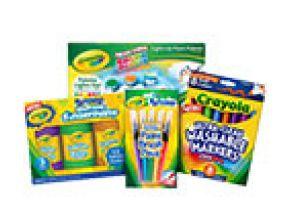 Crayola oblíbené výtvarné potřeby