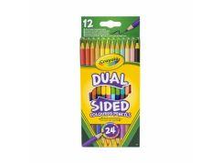 Crayola pastelky oboustranne 12 ks
