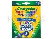 Crayola Voskovky vypratelné 8 ks