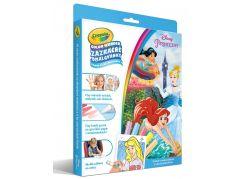 Crayola Zázračné omalovánky Disney Princezny