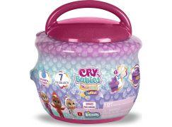 Cry Babies Magic Tears Fantasy Paci House MIX 1 tmavě růžový