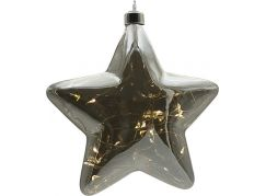 Crystal Závěsná Hvězda 18 cm