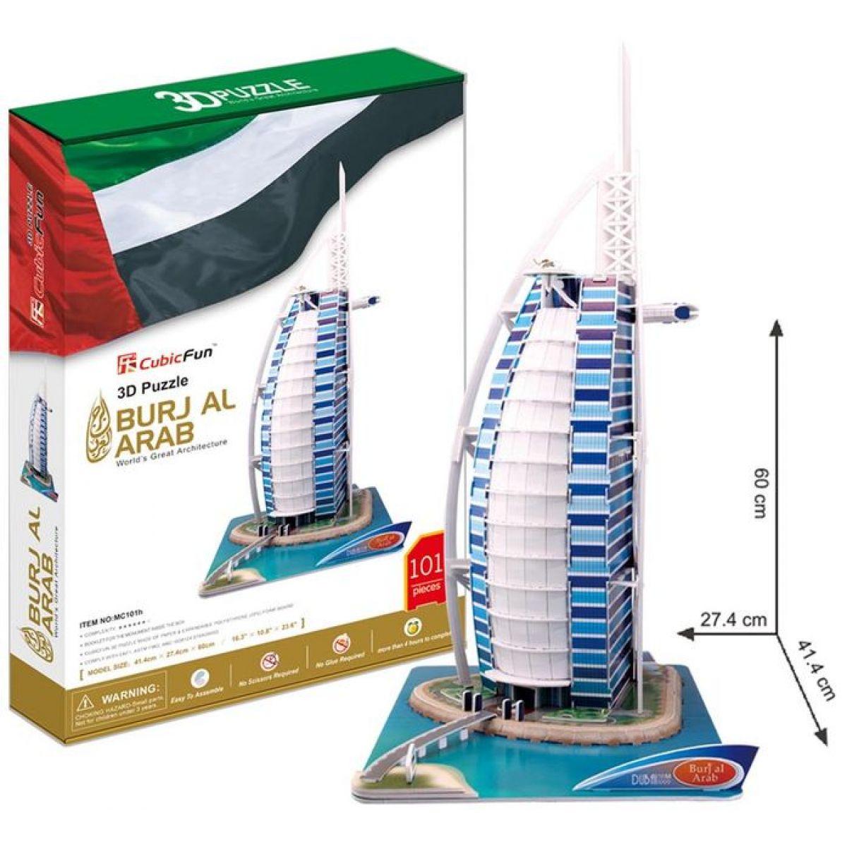 CubicFun 3D Burj Al Arab 101 dílků
