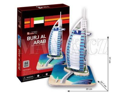 CubicFun 3D Burj Al Arab 44 dílků