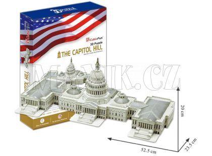 CubicFun 3D Capitol Hill 132 dílků