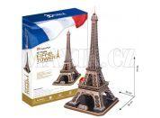 CubicFun 3D Eiffelova vež 82 dílků
