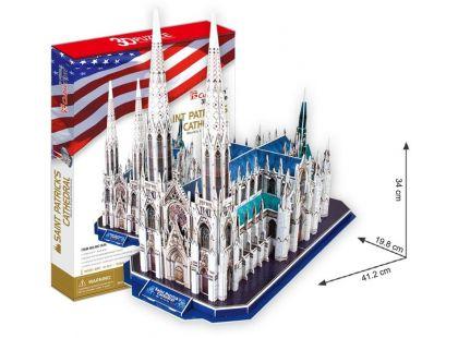 CubicFun 3D Katedrála Sv.Patrika 117 dílků
