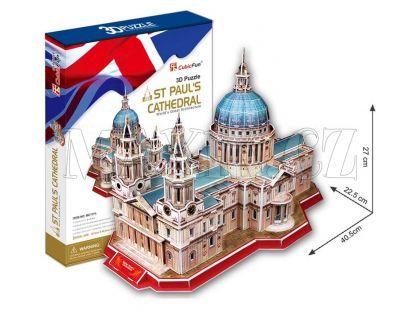 CubicFun 3D Katedrála Sv.Pavla 117 dílků