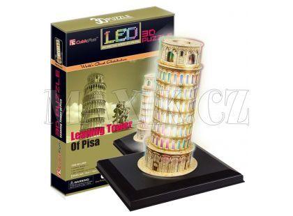CubicFun 3D led Šikmá věž 15 dílků