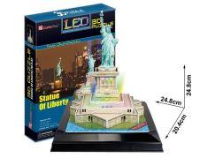 CubicFun 3D led Socha Svobody 37 dílků