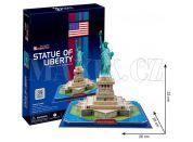 CubicFun 3D Socha Svobody 39 dílků