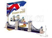 CubicFun 3D Tower Bridge 120 dílků