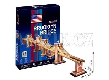 CubicFun Puzzle 3D Brooklin Bridge 64 dílků