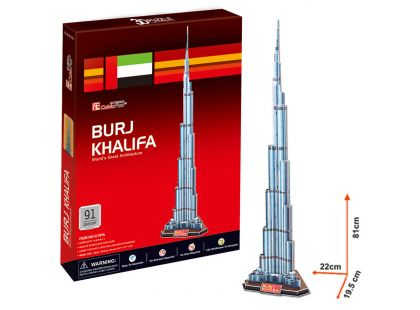 CubicFun Puzzle 3D Burj Khalifa 92 dílků