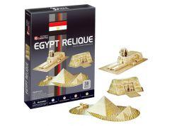 CubicFun Puzzle 3D Egyptské památky 30 dílků