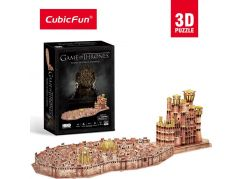 CubicFun Puzzle 3D Game Of Thrones 262 dílků