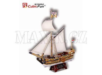 CubicFun Puzzle 3D Jachta Mary 83 dílků