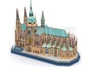 CubicFun Puzzle 3D Katedrála Sv.Víta