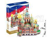 CubicFun Puzzle 3D Kostel Savior 233 dílků