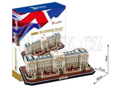 CubicFun Puzzle 3D Palác Buckingham 72 dílků
