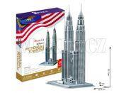 CubicFun Puzzle 3D Petronas Towers 88 dílků