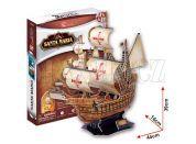 CubicFun Puzzle 3D Santa Maria 113 dílků
