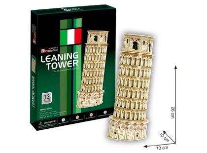 CubicFun Puzzle 3D Šikmá věž 13 dílků