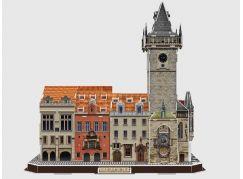 CubicFun Puzzle 3D Staroměstský orloj s radnicí 137 dílků