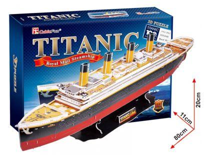 CubicFun Puzzle 3D Titanic 113 dílků